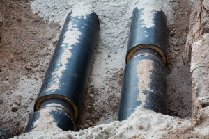 replacement of pipes during a Gas Line Repair