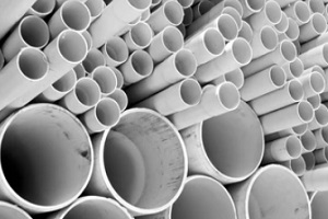 various size pvc pipes
